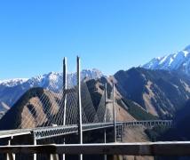 行车中拍摄〈果子勾大桥〉