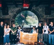 2017-07-14周五优乐娱乐平台《大宅门》陈逸飞双人油画风主题人像创作活动合影
