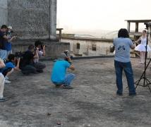 《天使之城》东莞水泥厂人像摄影活动芭蕾舞