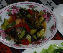 在後藏薩迦縣吃的午飯