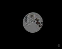 今早2点拍的超级月亮