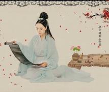 中国风画意人像写真