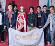 2016-12-18优乐娱乐平台《圣诞礼物》主题人像棚拍活动合影