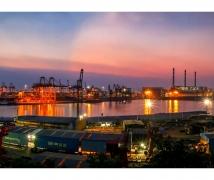 赤湾港夜景