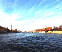 巴黎,船游塞纳河随拍。