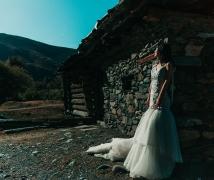 忧伤的新娘——奥色川西旅拍:新都桥