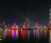 中华人民共和国成立七十周年灯光秀