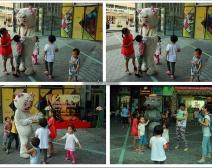 """庆""""六一""""儿童节之V尚街开业活动"""