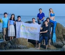 2016-08-28优乐娱乐平台《美人鱼》外模海边主题人像外拍活动合影