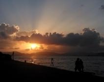 日落 - 香港西环码头