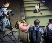 2016-06-16优乐娱乐平台《雨夜》夜景人像活动合影