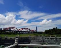 洪湖蓝天白云