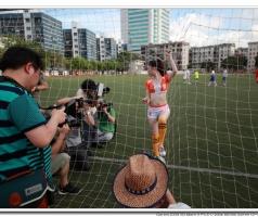 2014-6-29《鹏城校园·足球宝贝》人像拍摄活动花絮