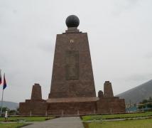 位於厄瓜多爾的赤道紀念碑