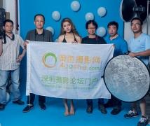 2016-06-05优乐娱乐平台《气球》时尚性感比基尼人像棚拍活动合影