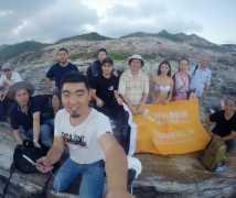 2017-9-22~23优乐娱乐平台2天1晚《渔家姑娘》惠州盐洲岛渔女人像自驾游创作活动合影