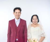40周年(钻石婚)结婚纪念照