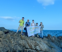 2016-07-16优乐娱乐平台《静若清池》海边瑜伽人像拍摄活动合影