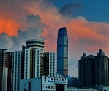 清晨的深圳