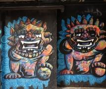 香港中上環的街頭藝術