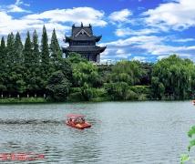 襄阳城河风光
