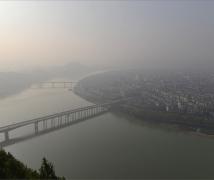 雾锁阆中古城