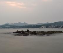 大鹏湾拍海(慢门)