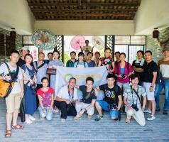 2014-8-10优乐娱乐平台《似水流年》甘坑小镇外拍合影