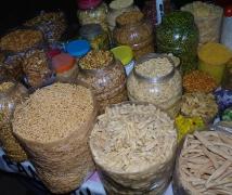 印度阿格拉的街頭小食
