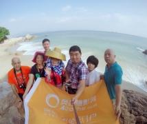 2017-10-12周四优乐娱乐平台《惠安女》海边渔女人像摄影创作活动合影