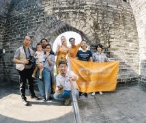 2017-10-26周四优乐娱乐平台《龙袍霓裳》时尚中国风人像创作活动合影