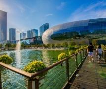 深圳城市风光之后海