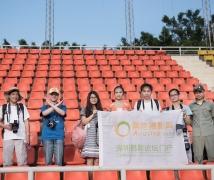 2015-05-22优乐娱乐平台《足球宝贝》深大人像外拍合影
