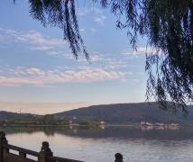 【风光摄影】有南北湖全景系列手机随拍1-蝴蝶岛晚霞-6P