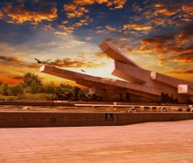 【风光摄影】难忘的民族劫难--唐山大地震纪念碑